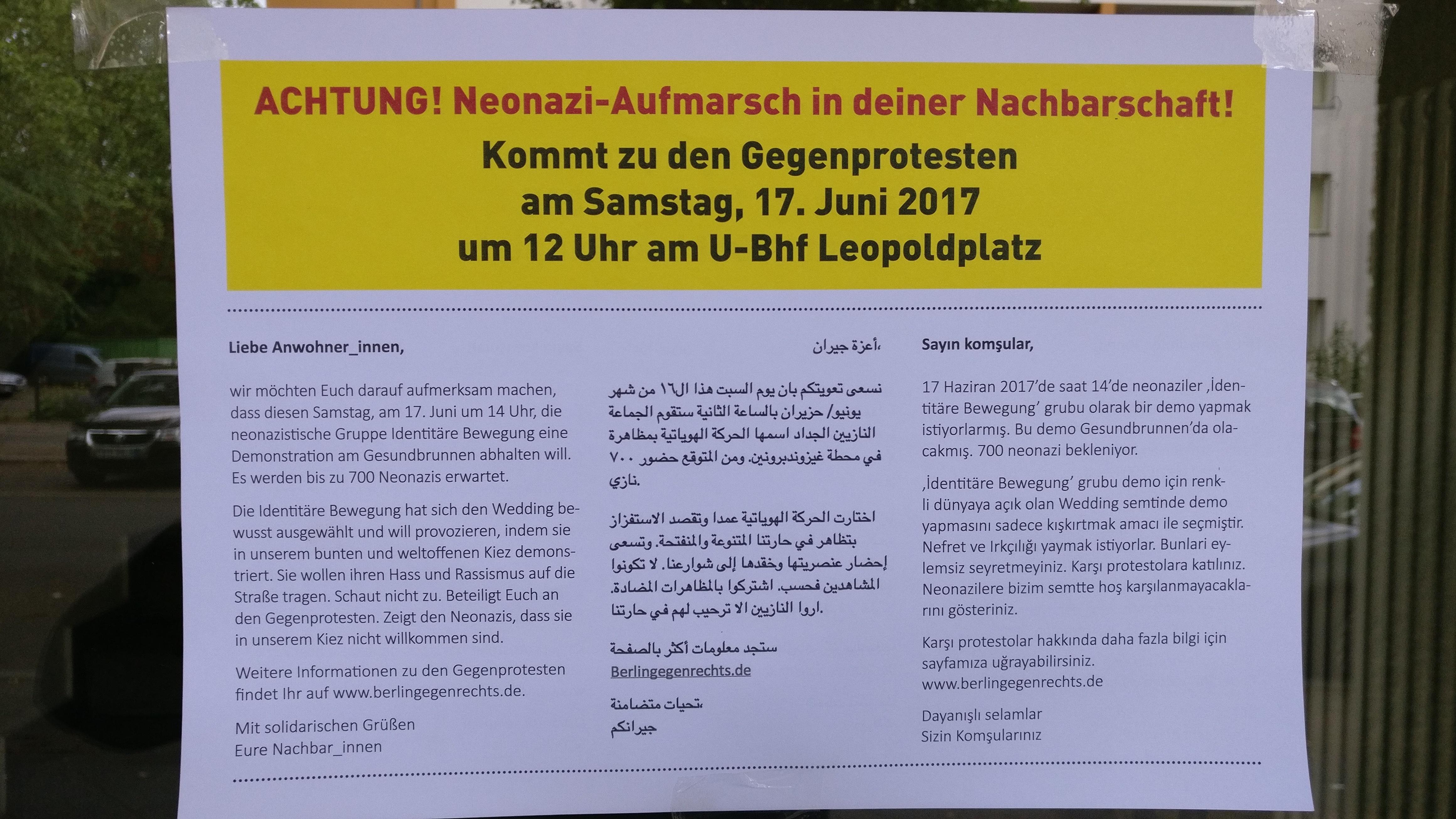 IB Demo Berlin